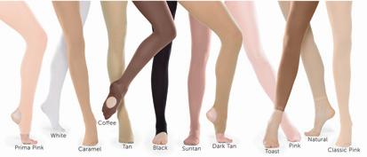 e8ad623a4805d Revolution Dancewear Footed Tights